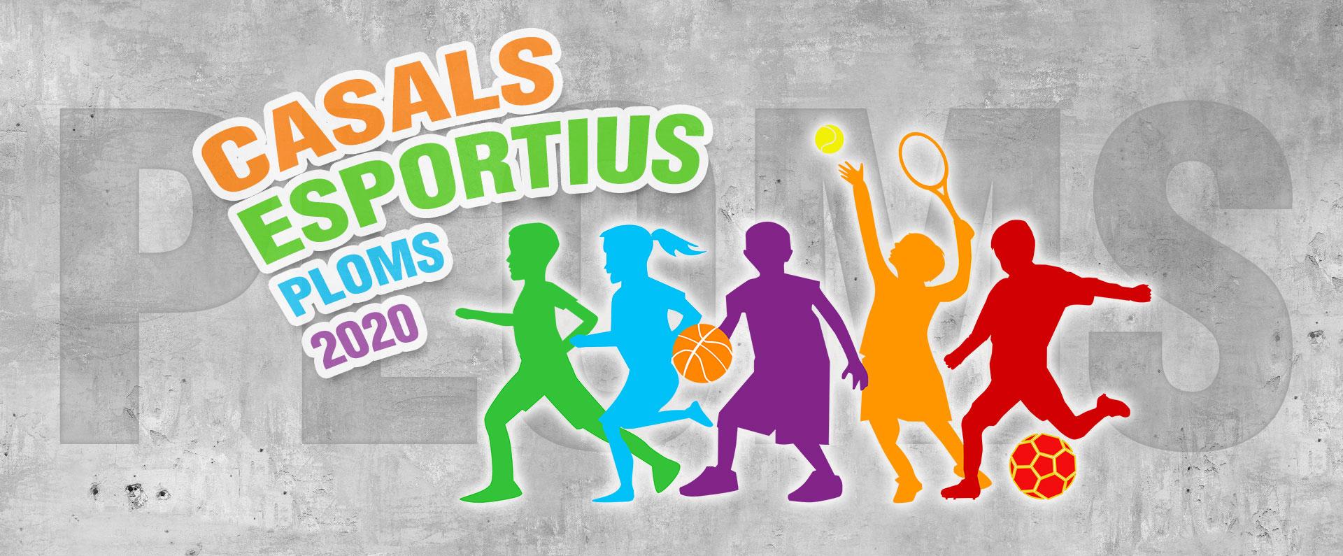 Imatge cartell Casals Esportius 2020